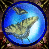 Butterfly Glass by Dreaming-in-Shadow