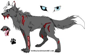 Adoptable Zombie Canine  .: OPEN :. by huskybutts
