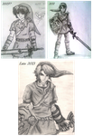 Link - ''Draw this again'' throwback meme by Sketchy-raptor