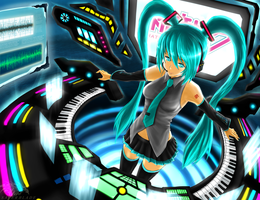 Hastune Miku by Saver-Blade
