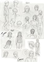 DW - character sketchdump by Absolute-Sero
