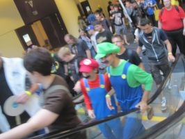 Fourth day at Fan expo 8 by WhiteFox89