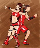 basketball - volleyball by russ-artiste