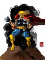 Thor...color by IttoOgamy