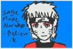 Sage mode naruto drawn on 3ds by Fran48