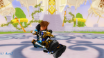 Armored Me And Armored Sora Kiss Castle Outside by kari5