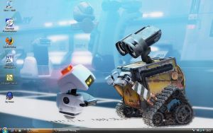 Wall-E wallpaper by mornmeril