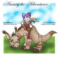 Amisay the Adventurer by rinacat