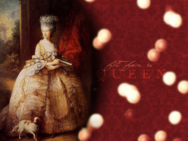 Fit for a Queen wallpaper by olde-fashioned