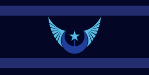 Flag Of The New Lunar Republic by MLP-Black-Knight