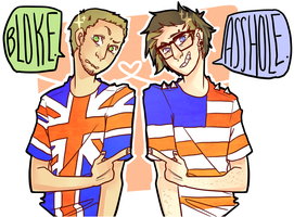 Gavin Free and Gavon Fee! by pikmama