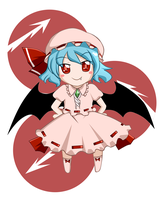 Remilia by keterok