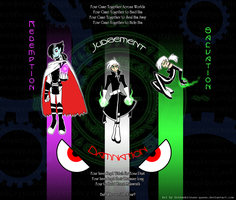 Danny Phantom The Four by The-Clockwork-Crow