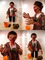 Trick r' Treat Zombie Figure by dreggs88