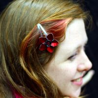 Lili Red Barrette 2 by Utopia-Armoury