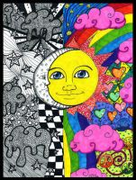 Day and Night by PsychedelicTreasures