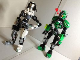 bionicle: oh boy by CASETHEFACE