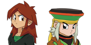 Zeah and Rae by theCHAMBA
