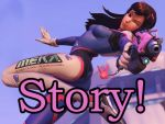 D.Va's Play of the Game by BathroomReading