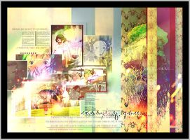 Ghibli collage by Lingz