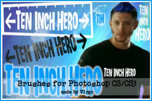 Ten Inch Hero Brushes by virgothedreamer