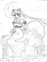 Princess Serenity DARKER VER. by Lomelindi88
