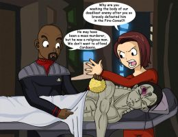 Stupid Alternate Ending of DS9 by Glee-chan