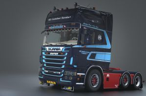 Scania R620 Test by ReyhanRamadhan