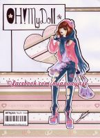 Oh! My Doll Magazine p3 by KawaiiSweet-Nyasa