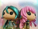 Blue~Pink - Miku and Luka by Nine-Tailed-Fox