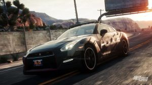 Nissan GT-R R35 ultimate Black edition by BL4CK-HE4RT