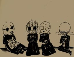 Cutie Cenobites by That-Love-Voodoo