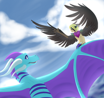 Fly High by Kiwitiger
