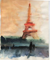 Eiffel Tower by Nowato