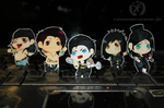Black Veil Brides Stickers by FlaminiaKennedy