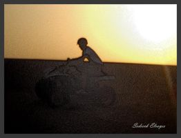 Modified Sunset at da desert 1 by Sedeeck