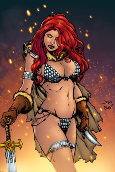Red Sonja by thyybrandao