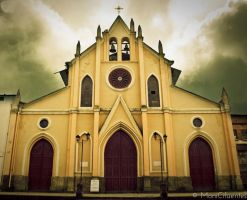 Cachipay Church by romanova