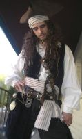 Captain Jake Farrow - Pirate 2 by MisticUnicorn