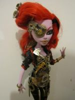 One of a kind Monster high steampunk Shutter Bug by midnightstrinkets