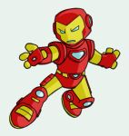 Lil Iron Man by tyrannus