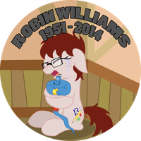 RIP Robin Williams by Hottspinner