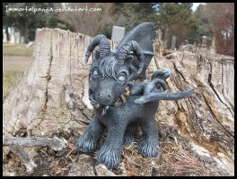 Boy Gargoyle for Wart by ImmortalPanda