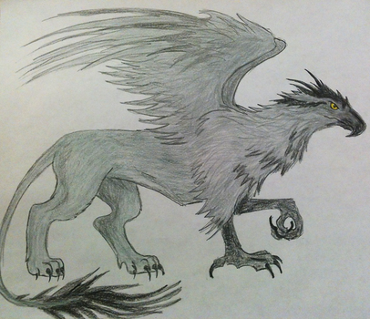 Silver Griff by ravagecat31