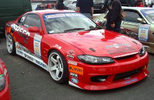 EDC: Red Silvia S15 by andyrogerson
