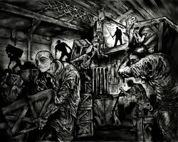 Zombies on the Loading Docks by ShannonRitchie