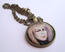 Goblin King Necklace by TheInklingGirl