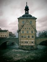 ...the old townhall of bamberg... by Ulliart