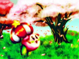 Cherry Kirby by avroillusion