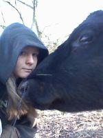 My Cow Loves Me c: by Forever-Willem
